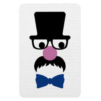Retro Mustache Man Magnet
