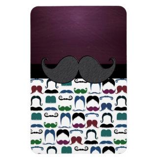 Retro Mustache Moustache Magnets