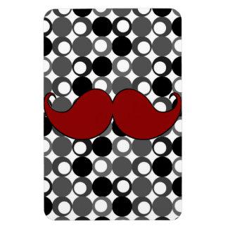 Retro Mustache Moustache Flexible Magnets