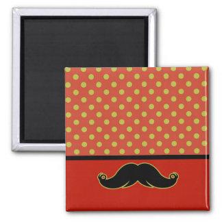 Retro Mustache Moustache Stache Magnets