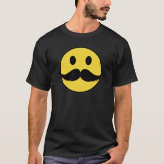 Retro Mustache Smiley, Great Father's Day Gift! T-Shirt