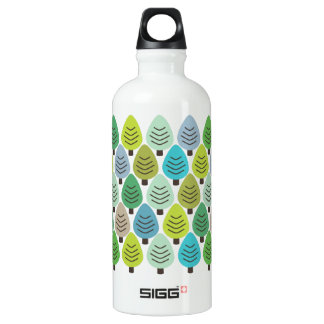 Retro nature lovers water bottle