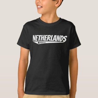 Retro Netherlands Logo T-Shirt