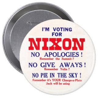Retro Nixon Anti-JFK Button