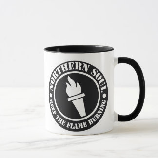 Retro Northern Soul style design Mug