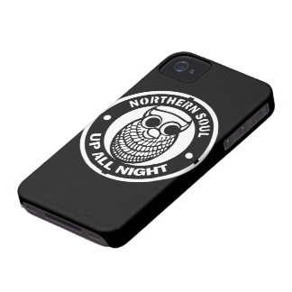 Retro Northern Soul Up All Night iPhone 4 Case-Mate Case