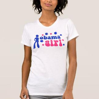 Retro Obama Girl T Shirts