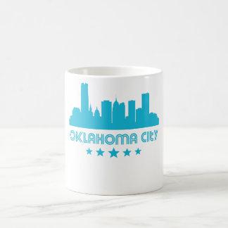 Retro Oklahoma City Skyline Coffee Mug