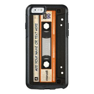 Retro Old Fashioned 80s Mixtape Audio Cassette OtterBox iPhone 6/6s Case