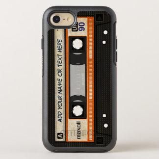 Retro Old Fashioned 80s Mixtape Audio Cassette OtterBox Symmetry iPhone 7 Case