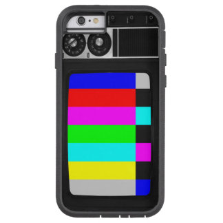 Retro Old TV with Color Bar iPhone 6 case