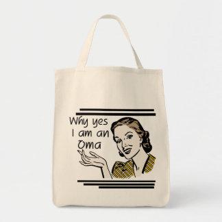 Retro Oma Tshirts and Gifts Tote Bag