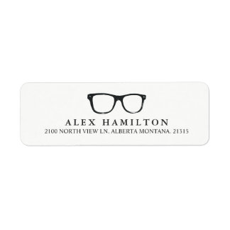 Retro Optics | Personalized Return Address Return Address Label