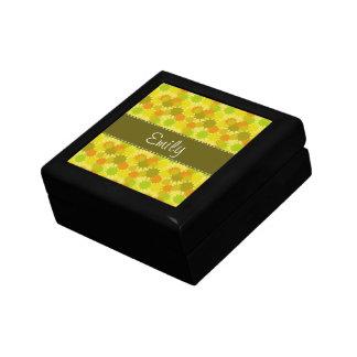 Retro Orange & Green Gift Boxes