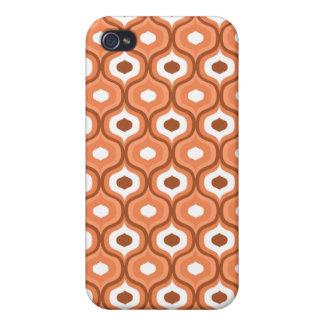 Retro Orange iPhone 4 Case