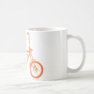 Retro Orange Krate Banana Seat Bike Basic White Mug