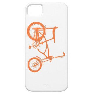 Retro Orange Krate Banana Seat Bike iPhone 5 Cover