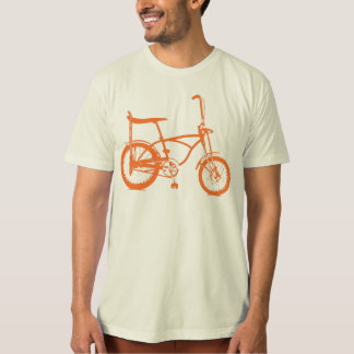 Retro Orange Krate Banana Seat Bike Shirt