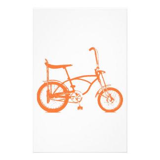 Retro Orange Krate Banana Seat Bike Stationery