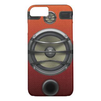 Retro Orange Speaker Look iPhone 7 Case
