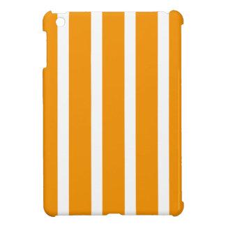 Retro ORANGE Stripes iPad Mini Cases