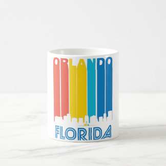 Retro Orlando Skyline Coffee Mug