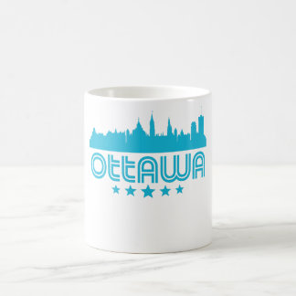 Retro Ottawa Skyline Coffee Mug