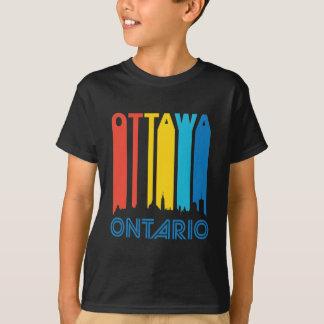 Retro Ottawa Skyline T-Shirt