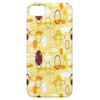 Retro Ovals 2 Barely There iPhone 5 Case