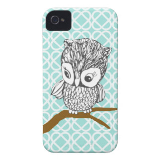 Retro Owl Blackberry Bold Case