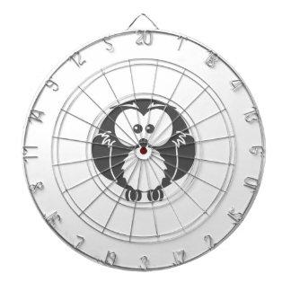 Retro Owl Dartboard With Darts