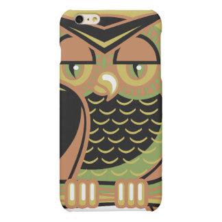 retro owl design