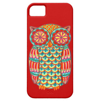 Retro Owl Groovy iPhone 5 Case