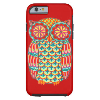 Retro Owl Groovy iPhone 6 case Tough iPhone 6 Case