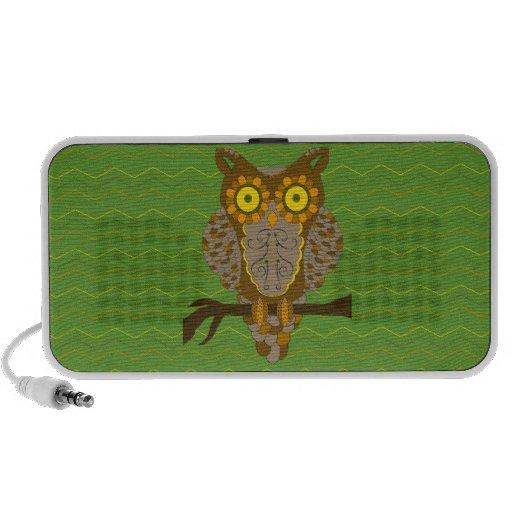 Retro Owl Speaker