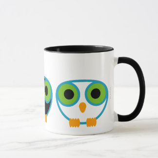 retro owl TEACHER APPRECIATION gift mug