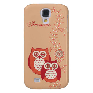 Retro Owls 3G/3GS  Samsung Galaxy S4 Covers