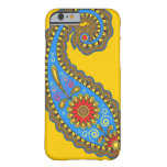 Retro Paisley Barely There iPhone 6 Case