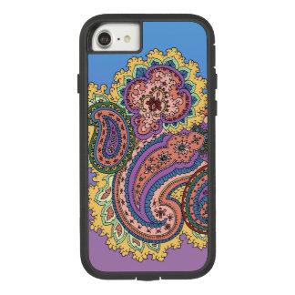 Retro Paisley Case-Mate Tough Extreme iPhone 8/7 Case