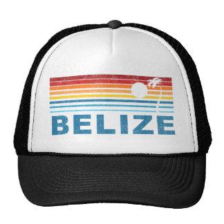 Retro Palm Tree Belize Hat