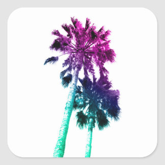 Retro Palm Tree Pop Art Los Angeles Sticker