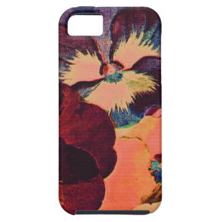 Retro Pansies iPhone 5 Cases
