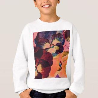 Retro Pansies Sweatshirt