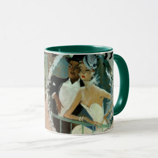 Retro Paris 2 Mug