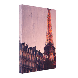 Retro Paris - Always a Good Idea - Wrapped Canvas