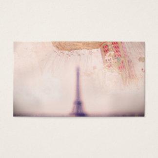 Retro Paris Business Card