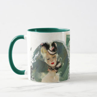 Retro Paris Mug