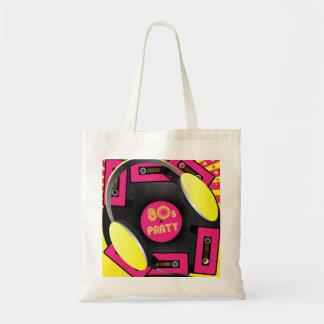 Retro Party Budget Tote Bag