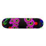 Retro Party Design 18.4 Cm Mini Skateboard Deck