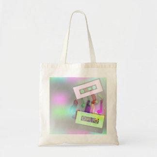 Retro Party Design Budget Tote Bag